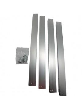 Ramka aluminiowa do mocowania panelu LED natynkowo 295x595 NEXT