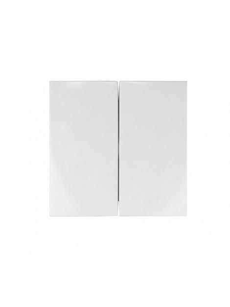 Klawisz podwójny biały 5316238989 B.Kwadrat Berker