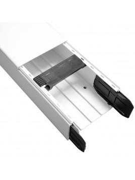 Kanał elektroinstalacyjny PVC 110x60 2m biały Hager