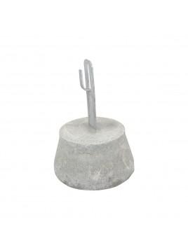Uchwyt betonowy do przewodu fi6-fi8 H160mm AN-11H AN-KOM