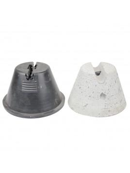 Uchwyt betonowy w tworzywie do przewodu fi6-fi8 H75mm AN-11D AN-KOM