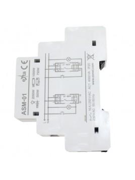 Automat schodowy ASM-01 na szynę 230V 16A ZMAEL