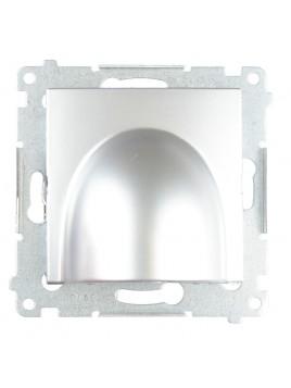 Przyłącze kabla DPK1.01/43 srebro Kontakt Simon54