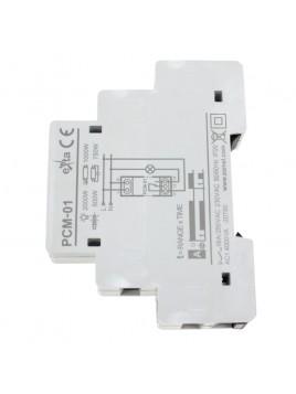 Przekaźnik czasowy PCM-01 230V 16A na szynę ZAMEL