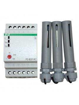 Przekaźnik poziomu cieczy z regulacją czułości PZ-829 RC F&F