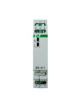 Przekaźnik bistabilny na szynę BIS-411i 230V F&F