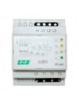 Automatyczny przełącznik faz na szynę PF-441 F&F
