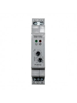 Przekaźnik czasowy PCM-02U 12-230V ACDC ZAMEL