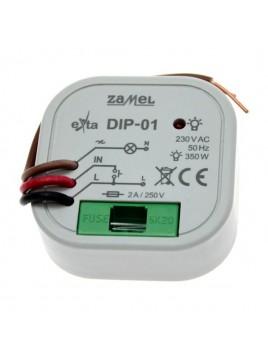Ściemniacz do puszki 15-350W 230V AC DIP-01 ZAMEL