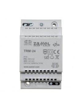 Transformator TRM-24 230/24V 15VA na szynę i n/t ZAMEL