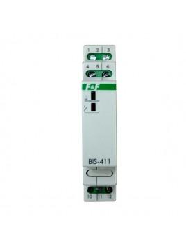 Przekaźnik bistabilny na szynę BIS-411i 24V F&F