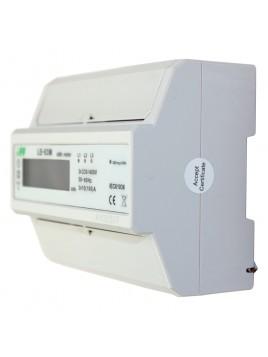 Licznik elektroniczny energii elektrycznej 3-fazowy 3x100A LE-03M F&F