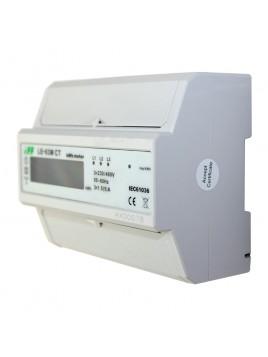Licznik elektroniczny przekładnikowy 3x5A LE-03M CT F&F