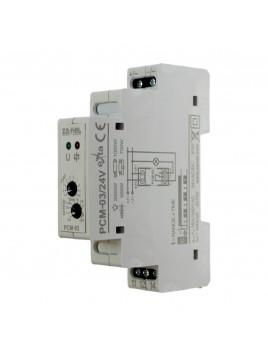 Przekaźnik czasowy PCM-03/24V AC/DC ZAMEL