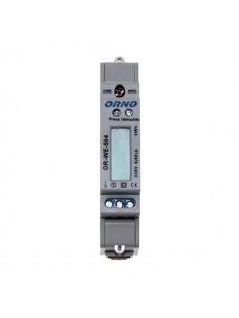 Licznik energii 1-fazowy 80A na szynę OR-WE-504 ORNO