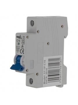 Wyłącznik nadprądowy 1P C 16A A00-S7-1P-C16