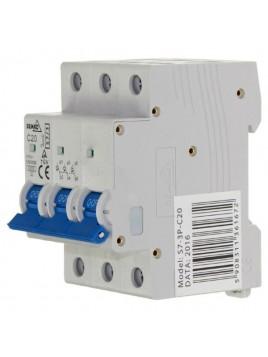 Wyłącznik nadprądowy 3P C 20A A00-S7-3P-C20