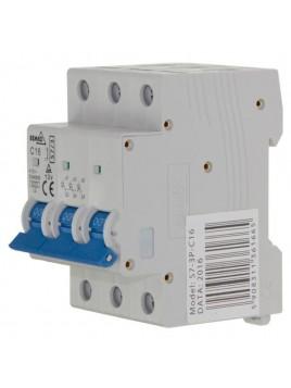 Wyłącznik nadprądowy 3P C 16A A00-S7-3P-C16