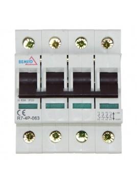 Rozłącznik izolacyjny 4P 63A A10-R7-4P-063 Bemko