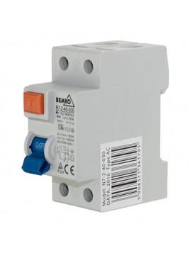 Wyłącznik różnicowoprądowy 2P 40A 30mA AC A05-N7-2-40-030 Bemko