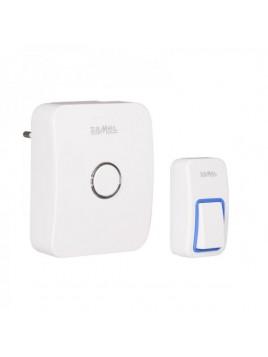 Dzwonek bezprzewodowy SAMBA ST-950 przycisk bezbateryjny ZAMEL