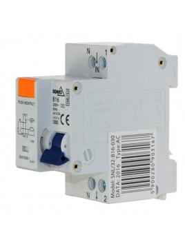 Wyłącznik różnicowoprądowy 2P B 16A 30mA A-SNL-32-B16