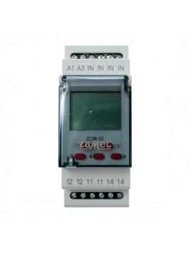 Programator czasowy 1-kanałowy tygodniowo-roczny ZCM-22 ZAMEL