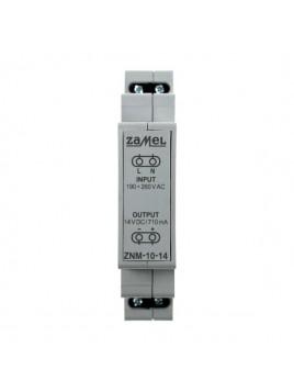 Zasilacz LED modułowy 14V 10W ZNM-10-14 LEDIX