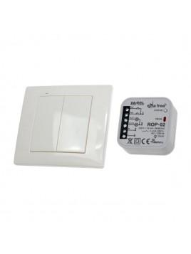 Zestaw sterowania bezprzewodowego oświetleniem 2-kanałowy RZB-04 ZAMEL