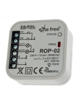 Radiowy odbiornik 2-kanałowy ROP-02 ZAMEL