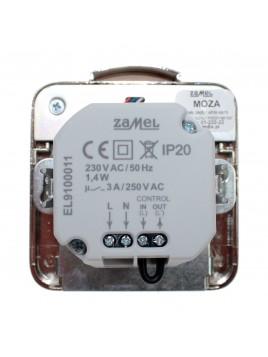 Oprawa LED MOZA p/t 230V PIR stal 01-222-22 LEDIX ZAMEL