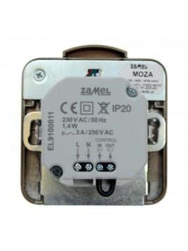 Oprawa LED MOZA PIR p/t 230V ZŁOTO 01-222-42 LEDIX ZAMEL