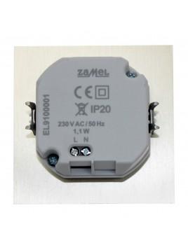 Oprawa LED TIMO p/t 230V stal 07-221-21 z ramką LEDIX ZAMEL