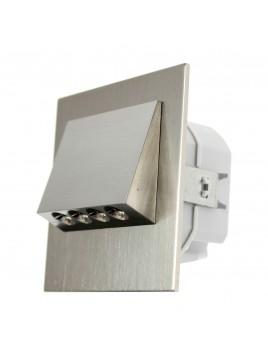 Oprawa LED NAVI p/t 230V stal 11-221-22 z ramką LEDIX ZAMEL