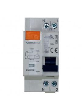 Wyłącznik różnicowoprądowy 2P B 16A 30mA A-SNL-32-B16 Bemko