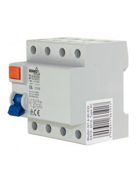 Wyłącznik różnicowoprądowy 4P 40A 30mA AC A05-N7-4-40-030 Bemko