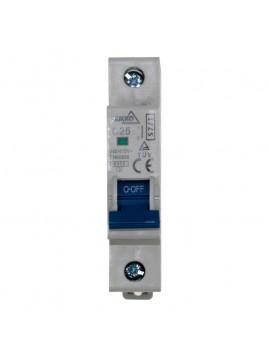 Wyłącznik nadprądowy 1P C 25A A00-S7-1P-C25 Bemko