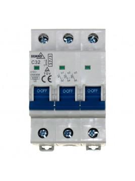 Wyłącznik nadprądowy 3P C 32A A00-S7-3P-C32 Bemko