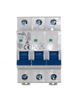 Wyłącznik nadprądowy 3P C 16A A00-S7-3P-C16 Bemko
