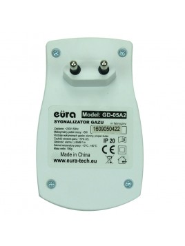 Czujnik gazu (ziemnego, propan-butan) GD-05A2 EURA