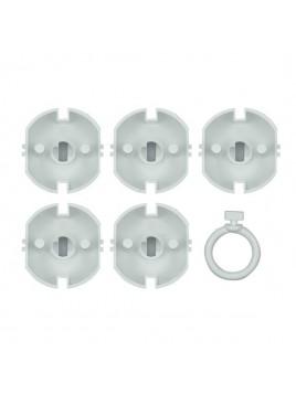 Zaślepka do gniazda ZG-1 (opak. 5 szt. + kluczyk) PLAST-ROL