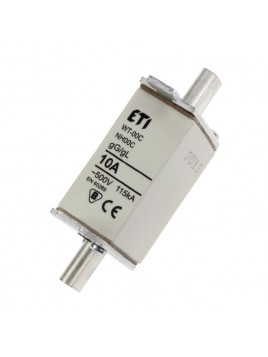 Bezpiecznik mocy WT-00 C 10A gL/gG Eti