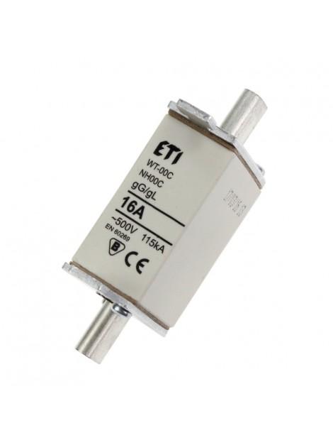 Bezpiecznik mocy WT-00 C 16A gL/gG Eti