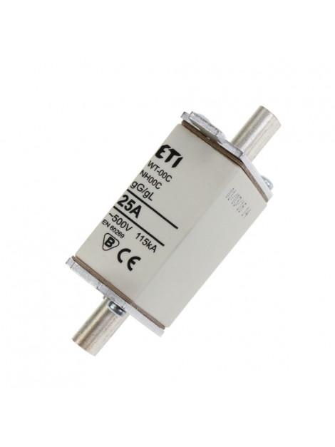 Bezpiecznik mocy WT-00 C 25A gL/gG Eti