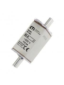 Bezpiecznik mocy WT-00 C 63A gL/gG 004111436 Eti