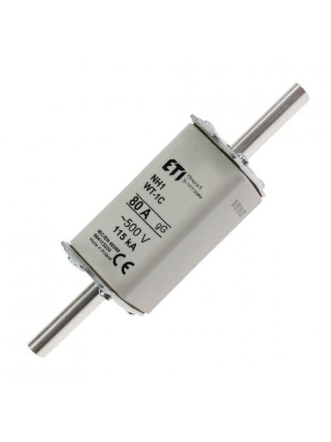 Bezpiecznik mocy WT-1 (1C) 80A gL/gG Eti