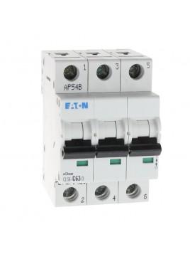 Wyłącznik nadprądowy 3P CLS6 C 63A 6kA AC 270426 Eaton Electric
