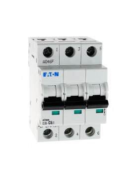 Wyłącznik nadprądowy 3P CLS6 C 6A 6kA AC 270417 Eaton Electric