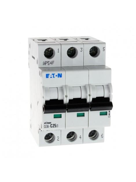 Wyłącznik nadprądowy 3P CLS6 C 25A 6kA AC 270422 Eaton Electric