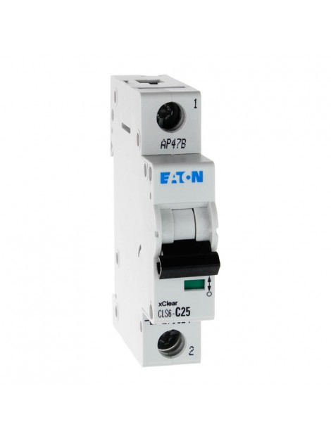 Wyłącznik nadprądowy 1P CLS6 C 25A 6kA AC 270354 Eaton Electric